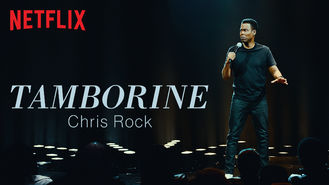 Netflix Box Art for Chris Rock: Tamborine